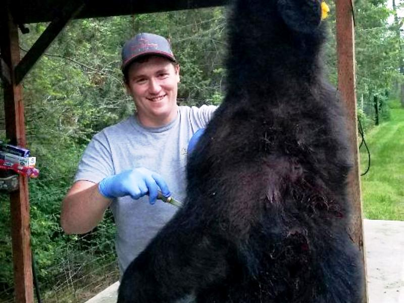 Bear Hunting Guide Daniel Evans
