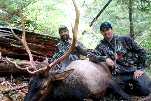 Idaho Archery Elk Hunting Photo