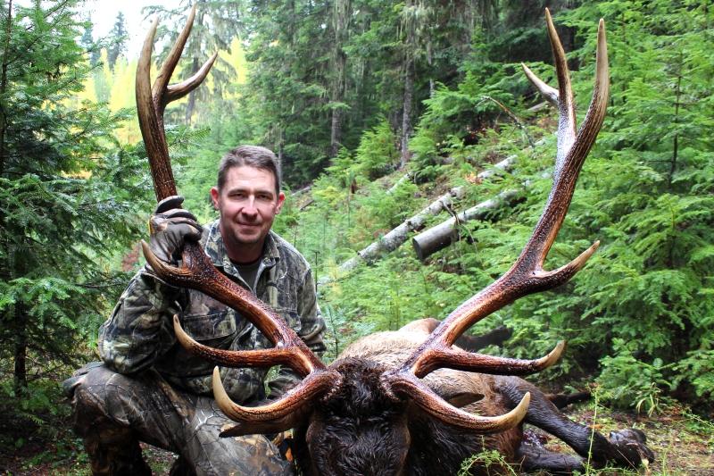 Elk Hunting 6x6 Idaho Bull Elk