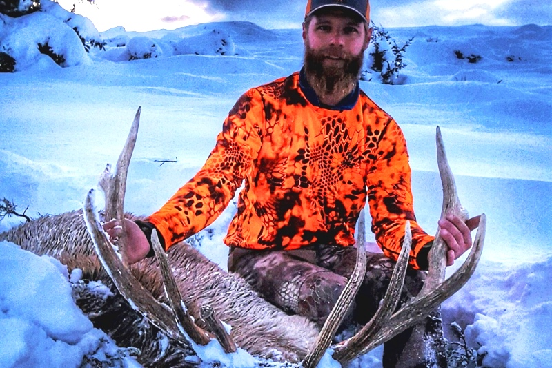 Montana Hunting Guide Rob Lamm And Elk