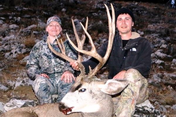 Ericka's Idaho Mule Deer Hunt