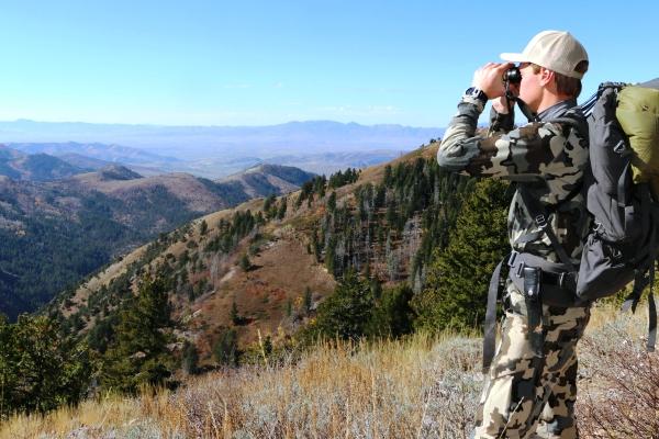 Glassing for Mule Deer In SE Idaho